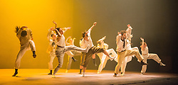 © Licensed to London News Pictures. 30/10/2013. After the phenomenal Political Mother comes Sun, created with Shechter's company which is recognised as one of the world's leading ensembles. World Premier at Sadler's Wells Theatre, London. Photo credit: Tony Nandi/LNP.