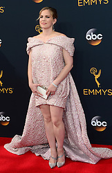 September 18, 2016 - Los Angeles, CA, USA - Stacy London arrives at the 68th Annual Emmy Awards at the Microsoft Theater in Los Angeles, California on Sunday, September 18, 2016. (Credit Image: © Michael Owen Baker/Los Angeles Daily News via ZUMA Wire)
