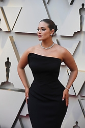 February 24, 2019 - Los Angeles, California, U.S - ASHLEY GRAHAM during red carpet arrivals for the 91st Academy Awards, presented by the Academy of Motion Picture Arts and Sciences (AMPAS), at the Dolby Theatre in Hollywood. (Credit Image: © Kevin Sullivan via ZUMA Wire)