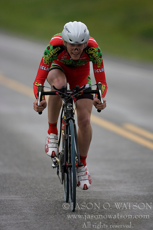 Toby Marzot (FIR) during stage 1 of the Tour of Virginia.  The Tour of Virginia began with a 4.7 mile individual time trial near Natural Bridge, VA on April 24, 2007. Formerly known as the Tour of Shenandoah, the ToV has gained National Race Calendar (NRC) status for the first time in its five year history.