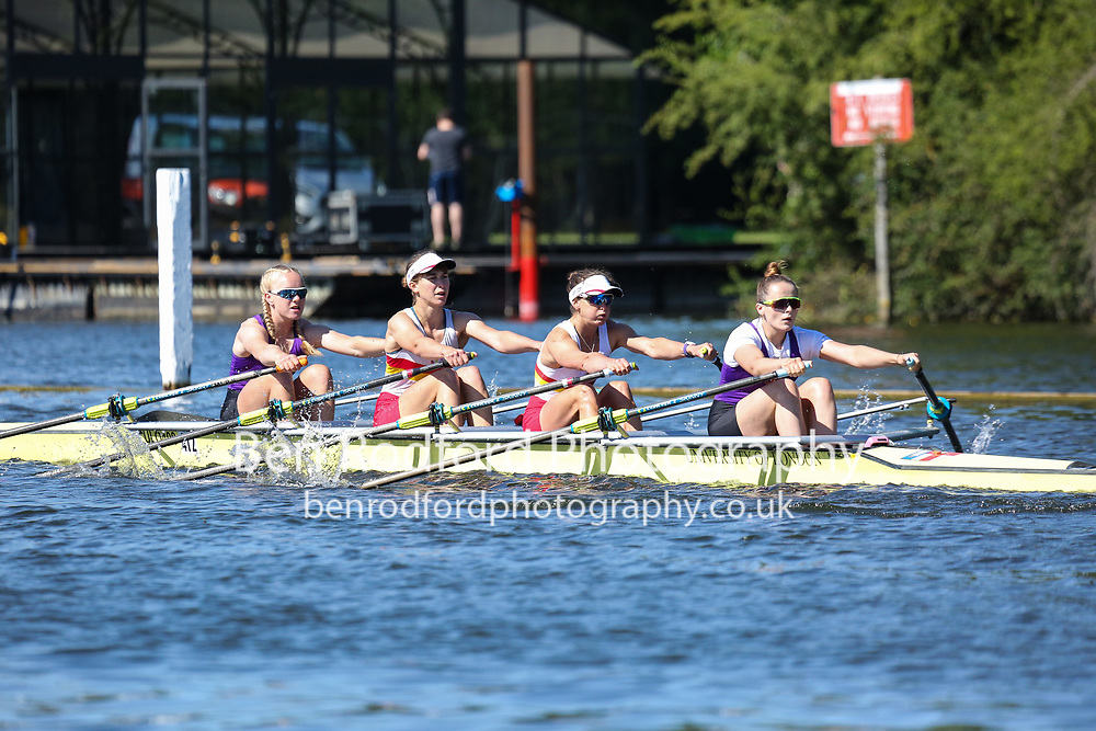 Race: 107 - Championship 4x-<br /> <br /> Henley Women's Regatta 2019<br /> Saturday<br /> <br /> To purchase this photo, or to see pricing information for Prints and Downloads, click the blue 'Add to Cart' button at the top-right of the page.