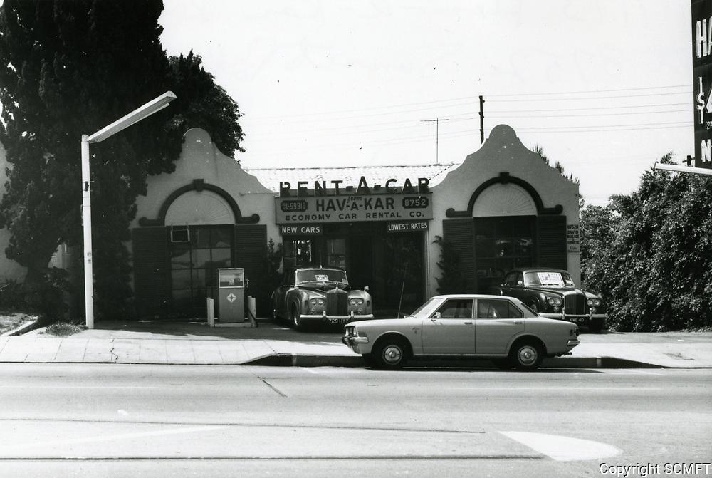1973 Rent a Car On Sunset Blvd.