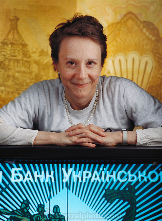 Esther Dyson: an expert on computers, software and investment in the former Soviet bloc, photographed at the IT Conference on computer freedom and privacy in San Francisco, California, (1995).