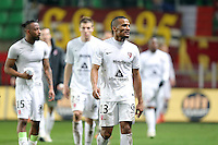 DECEPTION METZ / Florent MALOUDA    - 07.03.2015 -  Rennes / Metz -  28eme journee de Ligue 1 <br />