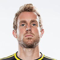 Feb 25, 2016; USA; Columbus Crew player Tyson Wahl poses for a photo. Mandatory Credit: USA TODAY Sports