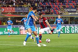 """Foto LaPresse/Filippo Rubin<br /> 25/05/2019 Bologna (Italia)<br /> Sport Calcio<br /> Bologna - Napoli - Campionato di calcio Serie A 2018/2019 - Stadio """"Renato Dall'Ara""""<br /> Nella foto: GOAL BOLOGNA BLERIM DZEMAILI (BOLOGNA F.C.)<br /> <br /> Photo LaPresse/Filippo Rubin<br /> May 25, 2019 Bologna (Italy)<br /> Sport Soccer<br /> Bologna vs Napoli - Italian Football Championship League A 2018/2019 - """"Dall'Ara"""" Stadium <br /> In the pic: GOAL BOLOGNA BLERIM DZEMAILI (BOLOGNA F.C.)"""