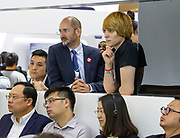 Participants listen during the session: Fiction Prototyping for the Future at the World Economic Forum - Annual Meeting of the New Champions in Tianjin, People's Republic of China 2018.Copyright by World Economic Forum / Greg Beadle
