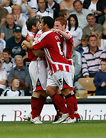 Photo: Steve Bond/Richard Lane Photography. Derby County v Sheffield United. Coca-Cola Championship. 13/09/2008. Darius Henderson celebrates the equaliser