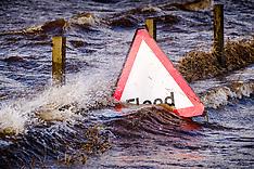 Storm Ciara Floods, South Lanarkshire, 9 February 2020
