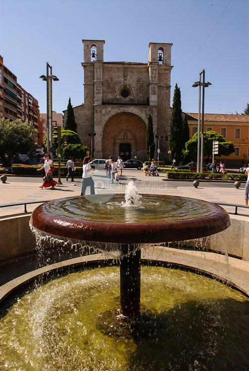 Plaza e Iglesia de San Ginés.Guadalajara. ©Antonio Real Hurtado / PILAR REVILLA