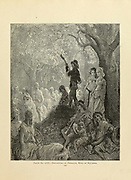 Departure of Thibault, King of Navarre Plate LXX from the book Story of the crusades. with a magnificent gallery of one hundred full-page engravings by the world-renowned artist, Gustave Doré [Gustave Dore] by Boyd, James P. (James Penny), 1836-1910. Published in Philadelphia 1892