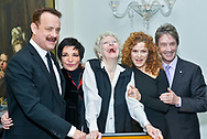 Tom Hanks, Liza Minnelli, Elaine Stritch, Bernadette Peters and Martin Short attend<br /> 'Elaine Stritch at the Carlyle: Movin'?? Over and Out' at Café Carlyle, Carlyle Hotel on April 2, 2013 in New York City.