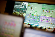 Sao Goncalo do Rio Abaixo_MG, Brasil...Software utilizado por uma mineradora em Sao Goncalo do Rio Abaixo, Minas Gerais...A software in a mineral industry in Sao Goncalo do Rio Abaixo, Minas Gerais...Foto: LEO DRUMOND / NITRO