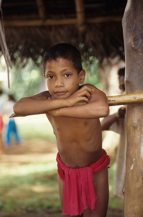 Native children, Yap, Wa`ab, Waqab, Federated States of Micronesia, islands in the Caroline Islands