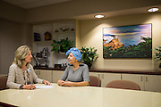 Good Samaritan Hospital Oncology/Radiology marketing campaign photographed at the Mission Oaks Campus in Los Gatos, California, on November 15, 2016. (Stan Olszewski/SOSKIphoto)