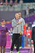 Olympic Stadium, Stratford, London, United Kingdom<br /> <br /> Description:<br /> <br /> 2012 London Olympic, Athletics, <br /> . <br /> <br /> 19:31:12  Friday  10/08/2012 [Mandatory Credit: Peter Spurrier/Intersport Images]
