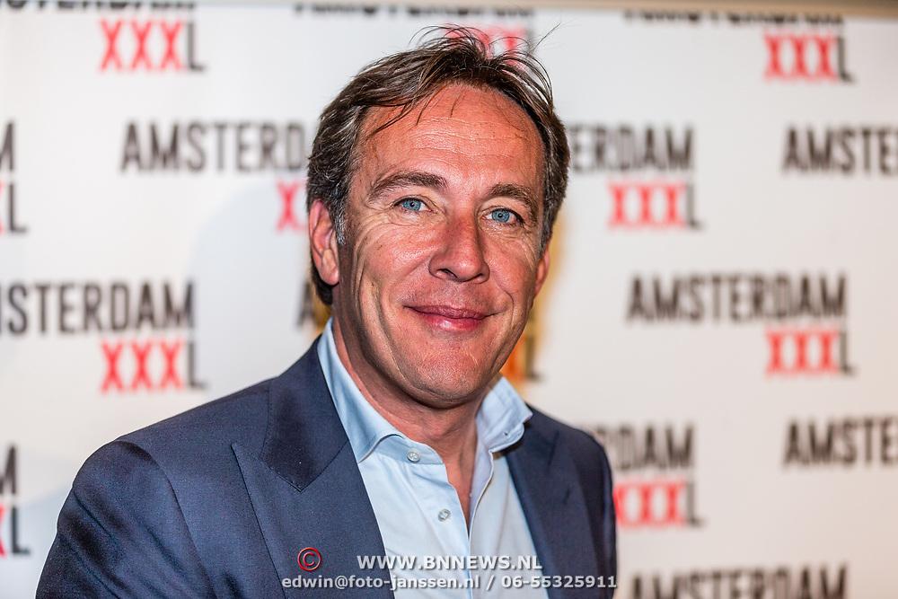 NLD/Amsterdam/20170324 - Uitreiking 2de editie XXXL Magazine, Patrick Huisman