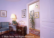 Real estate, interiors row homes,
