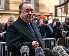 Alex Salmond at court, Edinburgh, 24 January 2019