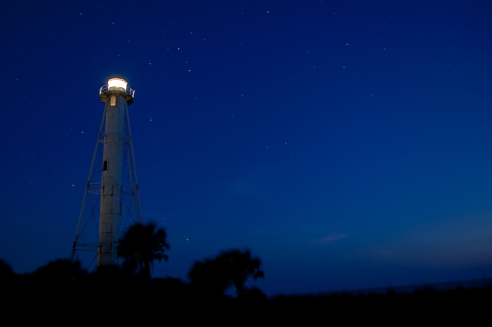 The old Boca Grande Lighthouse on Florida's Gulf Coast.