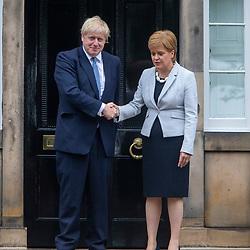 Boris Johnson in Edinburgh