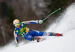 OLSSON Matts of Sweden during the 2nd Run of 7th Men's Giant Slalom - Pokal Vitranc 2013 of FIS Alpine Ski World Cup 2012/2013, on March 9, 2013 in Vitranc, Kranjska Gora, Slovenia. (Photo By Vid Ponikvar / Sportida.com)