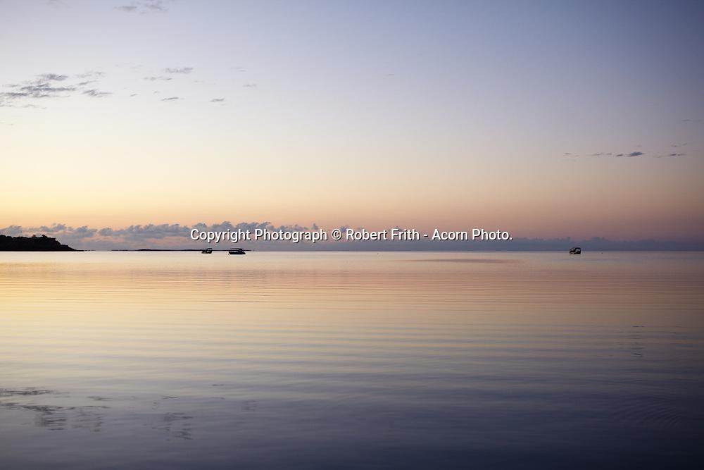 View over Cygnet Bay Pearl Farm