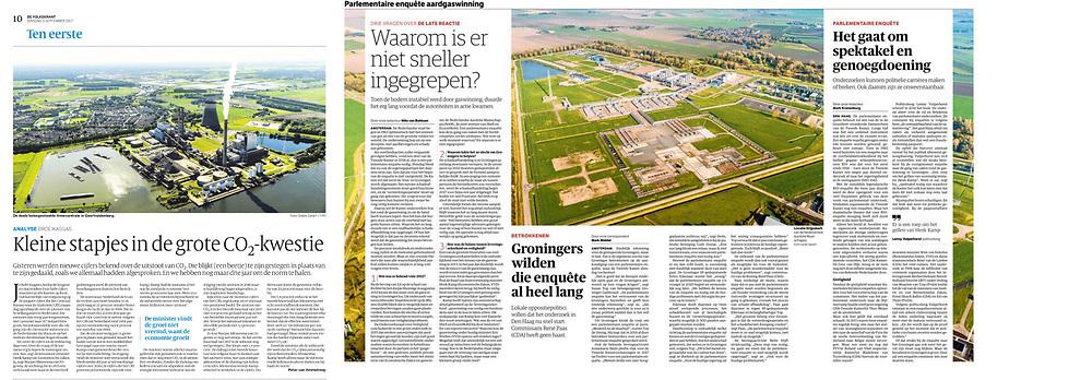 Leveringen uit archief aan onder andere Trouw, Volkskrant, NRC, Elsevier & Financieel Dagblad.
