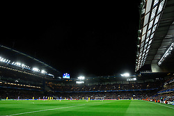 Stadium during football match between Chelsea FC and NK Maribor, SLO in Group G of Group Stage of UEFA Champions League 2014/15, on October 21, 2014 in Stamford Bridge Stadium, London, Great Britain. Photo by Vid Ponikvar / Sportida.com