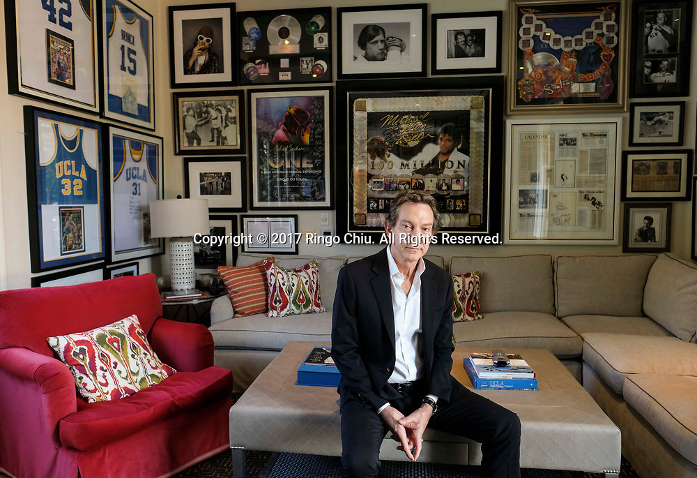 John Branca, entertainment and corporate attorney, specializing in rock 'n' roll and high profile music clients. (Photo by Ringo Chiu)<br /> <br /> Usage Notes: This content is intended for editorial use only. For other uses, additional clearances may be required.