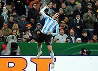 Fotball<br /> Tyskland v Argentina<br /> 03.03.2010<br /> Foto: Witters/Digitalsport<br /> NORWAY ONLY<br /> <br /> Jubel 0:1 Gonzalo Higuain (Argentinien)<br /> Testspiel Deutschland - Argentinien