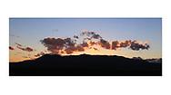Southern Utah at sunset near the Kodachrome Basin State Park, USA
