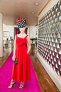 Catwalk models   Kelly McGrath,  in the g hotel for the launch of The Galway Races 2016 Summer Festival which runs from the 25th of July to the 31st of July in Galway City. Photo: Andrew Downes :