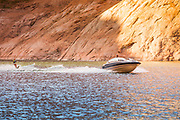 Water Skiing Reflection Canyon at Lake Powell