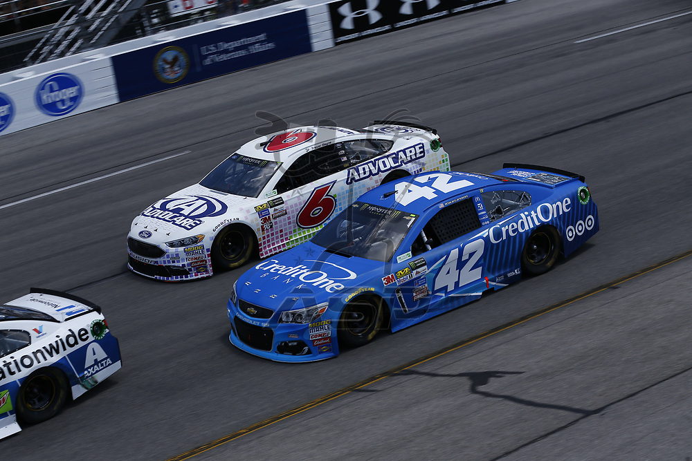 April 30, 2017 - Richmond, Virginia, USA: The Monster Energy NASCAR Cup Series teams take to the track for the Toyota Owners 400 at Richmond International Speedway in Richmond, Virginia.