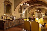 Monasterio Hotel bar area, a 16th century Spanish colonial Palace, Cusco, Peru, South America