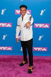 August 21, 2018 - New York City, New York, USA - 8/20/18.DJ Pauly D at the 2018 MTV Video Music Awards at Radio City Music Hall in New York City. (Credit Image: © Starmax/Newscom via ZUMA Press)