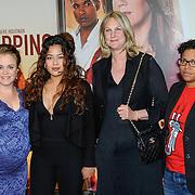 NLD/Amsterdam/20150420 - Premiere de Ontsnapping, Eva Poppink, Denise Aznamactrice, Christine van Stralen en Jaike Belforactrice