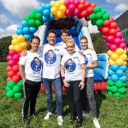 NLD/Amsterdam/20180925 - BN'ers over stormbaan voor metabole ziekte, Danny de Munck, Gerard Joling, Rcik Brandsteder, Samantha Steenwijk, Vivian Slingerland