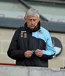 Keef  - Mandatory byline: Neil Brookman/JMP - 07966 386802 - 03/10/2015 - FOOTBALL - Globe Arena - Morecambe, England - Morecambe FC v Bristol Rovers - Sky Bet League Two