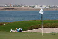 Maximilian Kieffer (GER) on the 9th during Round 3 of the Oman Open 2020 at the Al Mouj Golf Club, Muscat, Oman . 29/02/2020<br /> Picture: Golffile   Thos Caffrey<br /> <br /> <br /> All photo usage must carry mandatory copyright credit (© Golffile   Thos Caffrey)