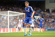 Cesar Azpilicueta of Chelsea looking on. Barclays Premier League, Chelsea v Crystal Palace at Stamford Bridge in London on Saturday 29th August 2015.<br /> pic by John Patrick Fletcher, Andrew Orchard sports photography.