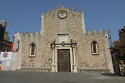 The Duomo at Palazzo Duchi di Santo Stefano, Taormina, sicily, Italy, July 2006