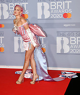 The 40th BRIT Awards show  Tuesday 18th February at The O2 Arena in London.<br /> Anne Marie
