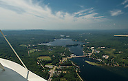 View from Above in Lakes Biplane
