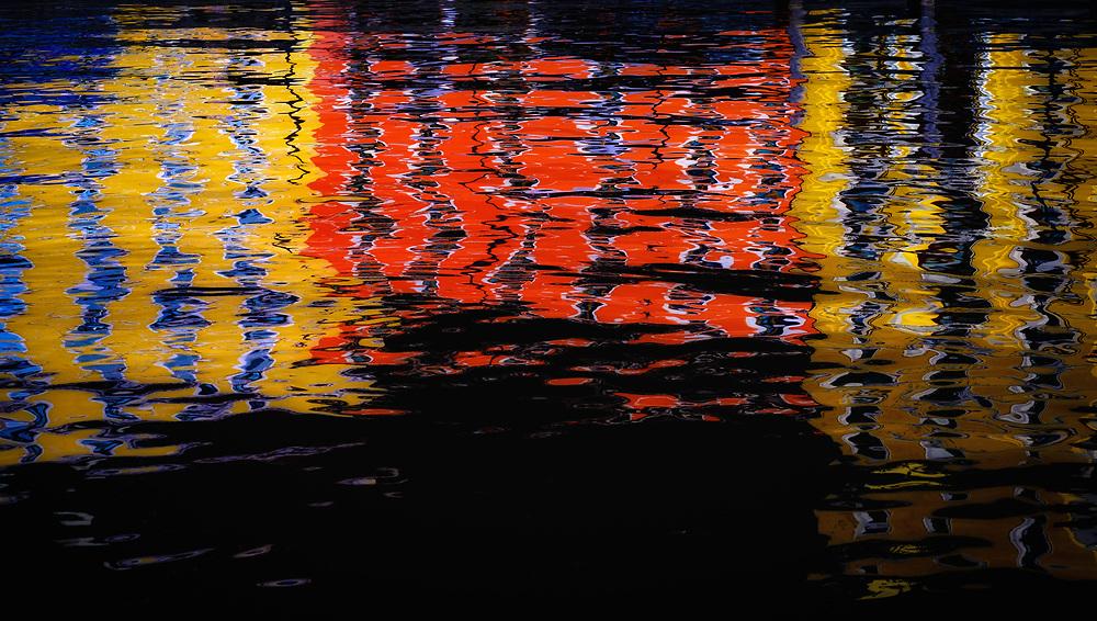 Reflections of Lake Garda, Italy