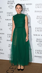 Keira Knightley bei den Harper's Bazaar Women of the Year Awards 2016 in London / 311016<br /> <br /> *** Harper's Bazaar Women of the Year Awards 2016 in London on October 31, 2016 ***