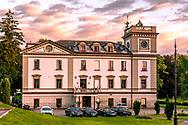 18-09-2015: Golf & Spa Resort Konopiste in Benesov, Tsjechië.<br /> Foto: Het oude hoofdgebouw van Golf & Spa Resort Konopiste