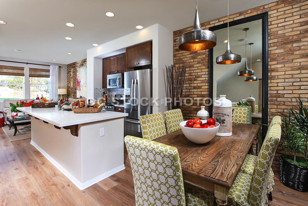 Modern Interior Design Kitchen and Dinning Room