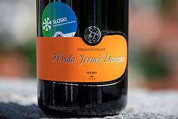Wine by Jeruzalem Ormoz for Jernej Damjan, Slovenian Ski jumper, when he retires from his professional nordic career, on May 13, 2021 in Ljubljana's castle, Ljubljana, Slovenia. Photo by Jurij Vodusek / Sportida